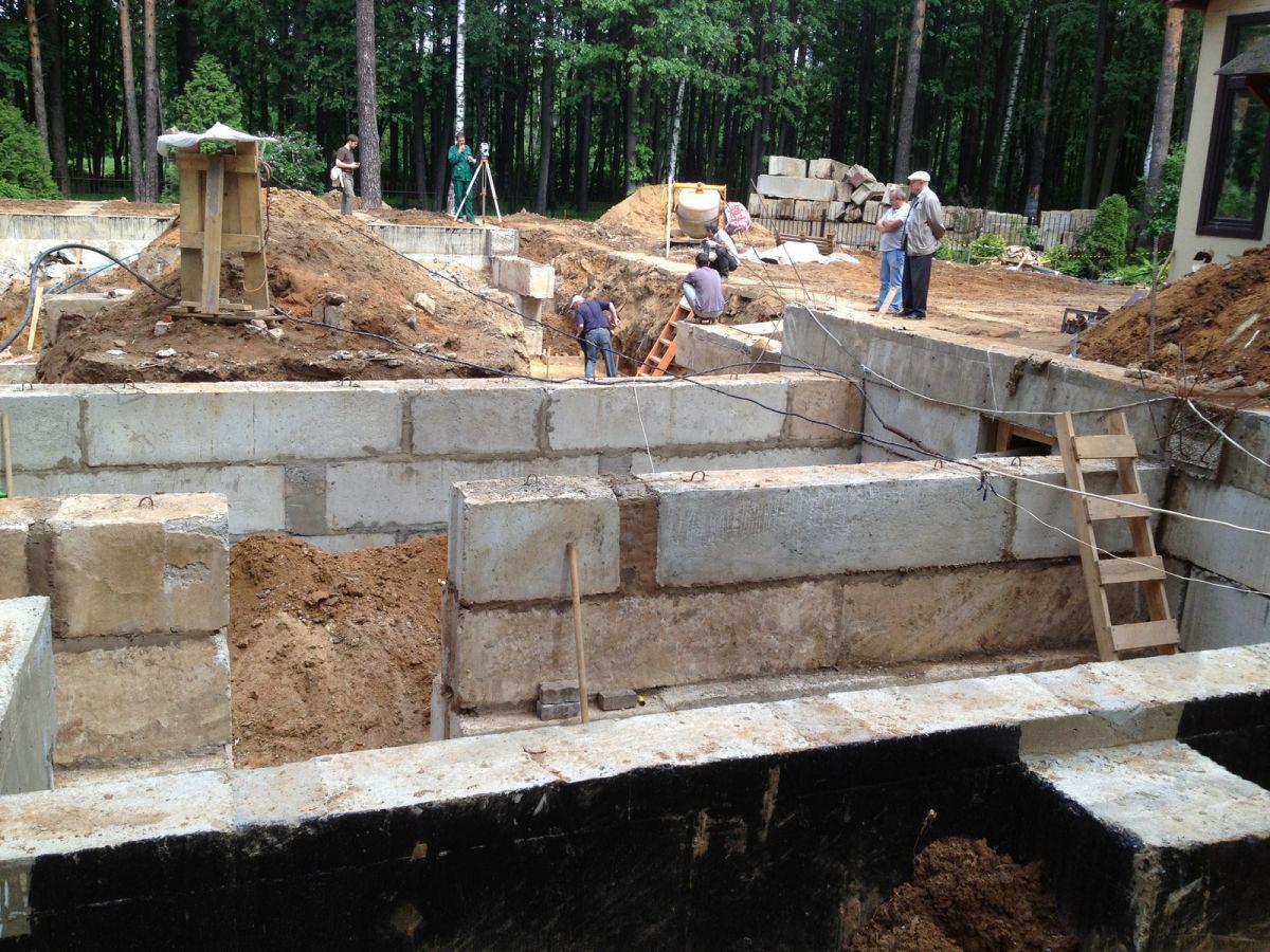 Подогрет бетона трехслойная стена керамзитобетон