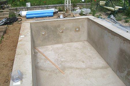 бетонная смесь для бассейна